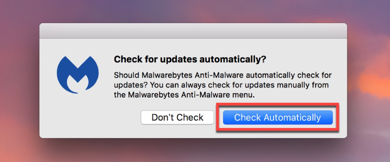 ウイルス定義ファイルを自動更新にする