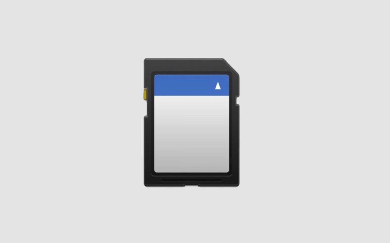 Mac ― SDカードを消去(フォーマット)する方法