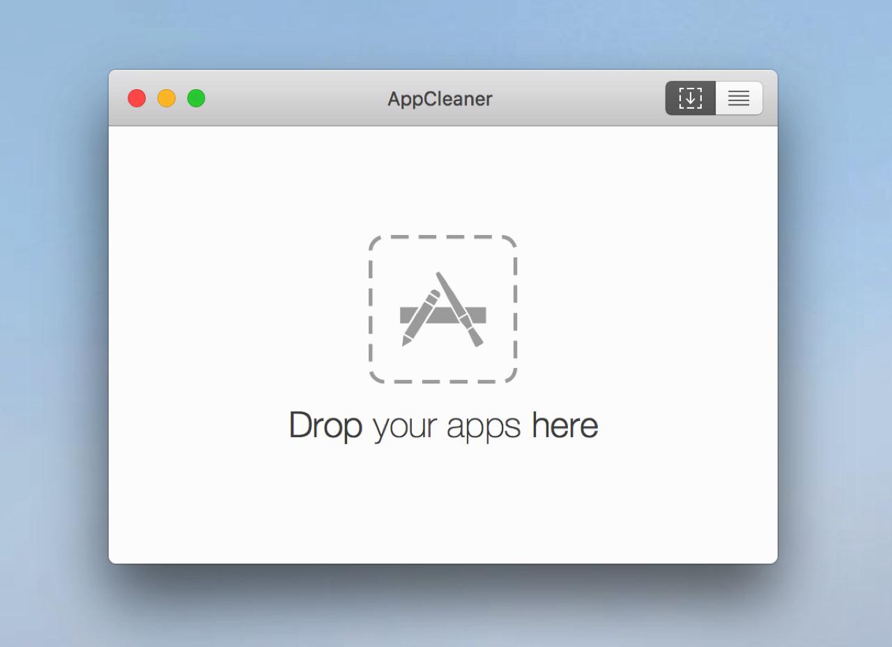 AppCleanerを起動する