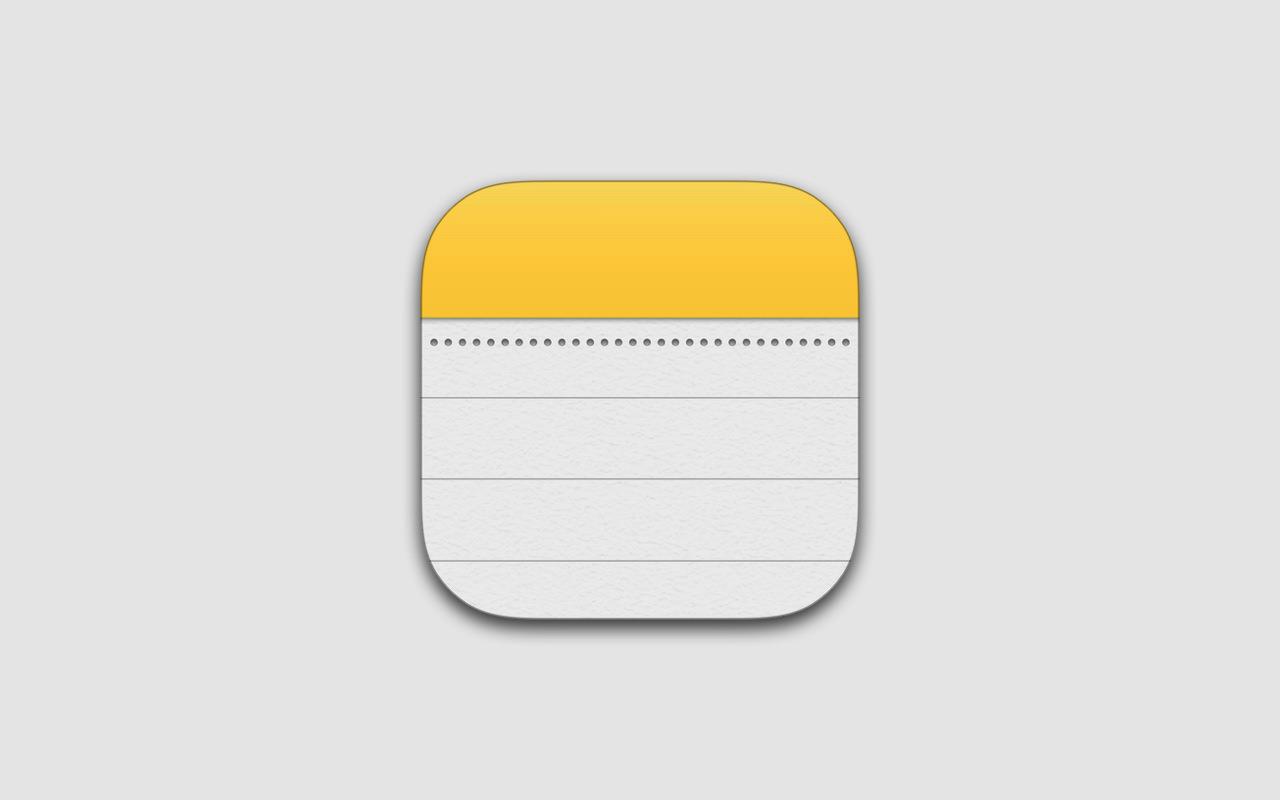 iPhone/iPad ―「メモ」アプリに表を追加(挿入)する方法