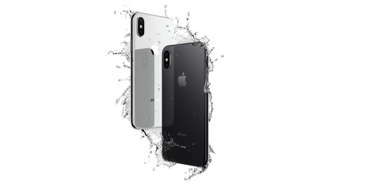 iPhone X 全面ガラス製